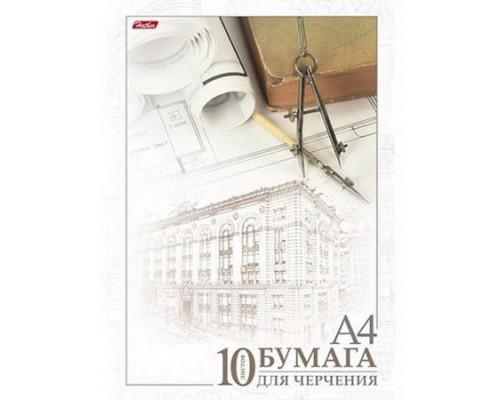 Бумага для черчения А4 10 листов Архитектура