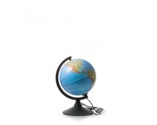 Глобус физико-политический d210мм с подсветкой Классик