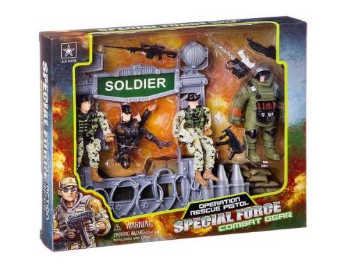 Набор военная техника с солдатами Special Force 23х28,5 см 6633B.