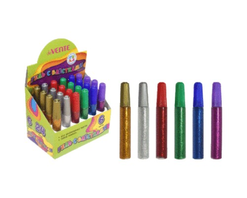 Гель с блестками deVENTE Glitter Gel с блестками 10 мл, смываемый до высыхания, ассорти