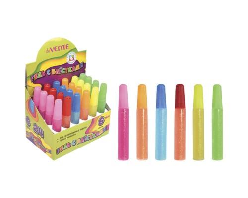 Гель с блестками deVENTE Neon Glitter Gel неоновый с блестками 10 мл, смываемый до высыхания