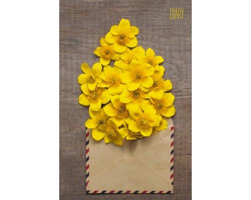 Ежедневник (недатированный) А5 112 листов Нежное послание