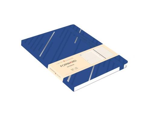 Ежедневник (недатированный) А5 104 листа искусственная кожа FORWARD. Синий