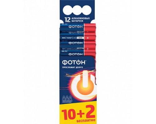 Батарейка ФОТОН LR6 BP12