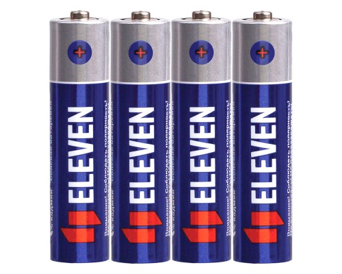 Батарейка Eleven AAA (R03) солевая, SB4
