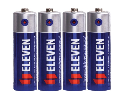 Батарейка Eleven AA (R6) солевая, SB4